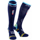 Compressport Ultralight Racing - Calcetines Running - UTMB Edition azul